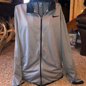 Nike dri fit zip up hoodie / size Large